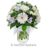 Bliss - Delicate Posy in a Glass Vase