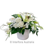 Misty - Mixed Arrangement in a Ceramic Containter