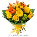 Sangria - Bouquet of Bright Mixed Blooms
