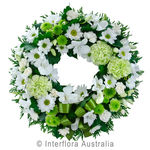 Eternity - White Cluster Wreath