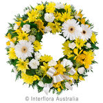 Eternity - Yellow Cluster Wreath