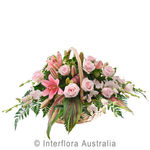 Cherish - Elegant Pastel Flower Basket