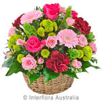 Flourish - Bright Mixed Basket of Blooms