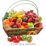Good Health - Basket of Mixed Seasonal Fruit