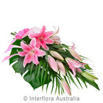 Graceful - Elegant Sheaf of Oriental Lilies