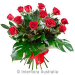 Temptation - Bouquet of 12 Long Stemmed Roses